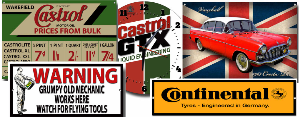 Vintage Metal Signs | Quality Metal Signs by Vintage Sign Designs