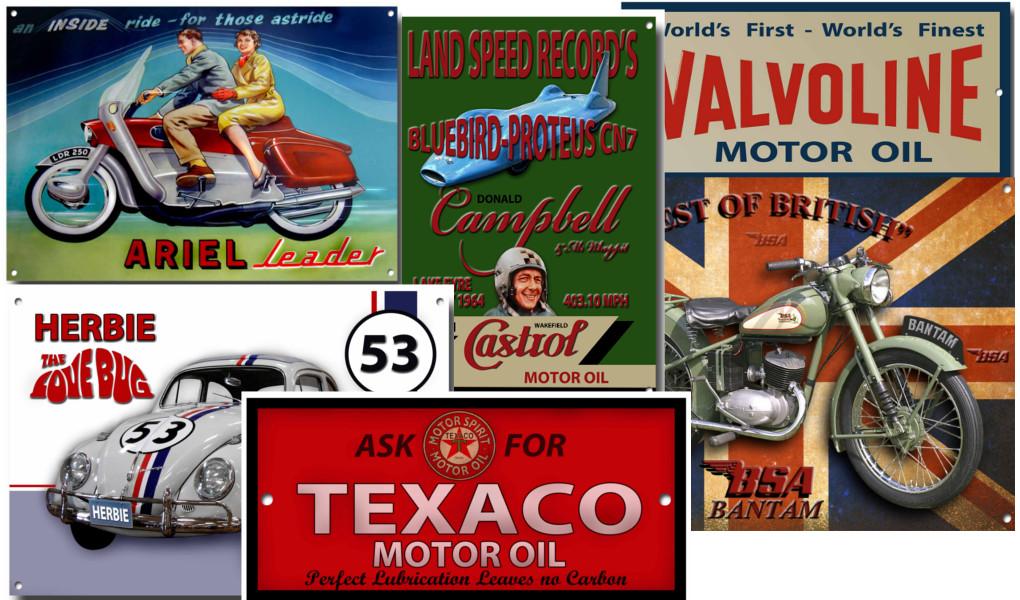 nostalgic tin signs wholesale